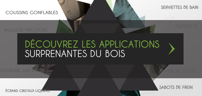Decouvrez les applications surprenantes du bois